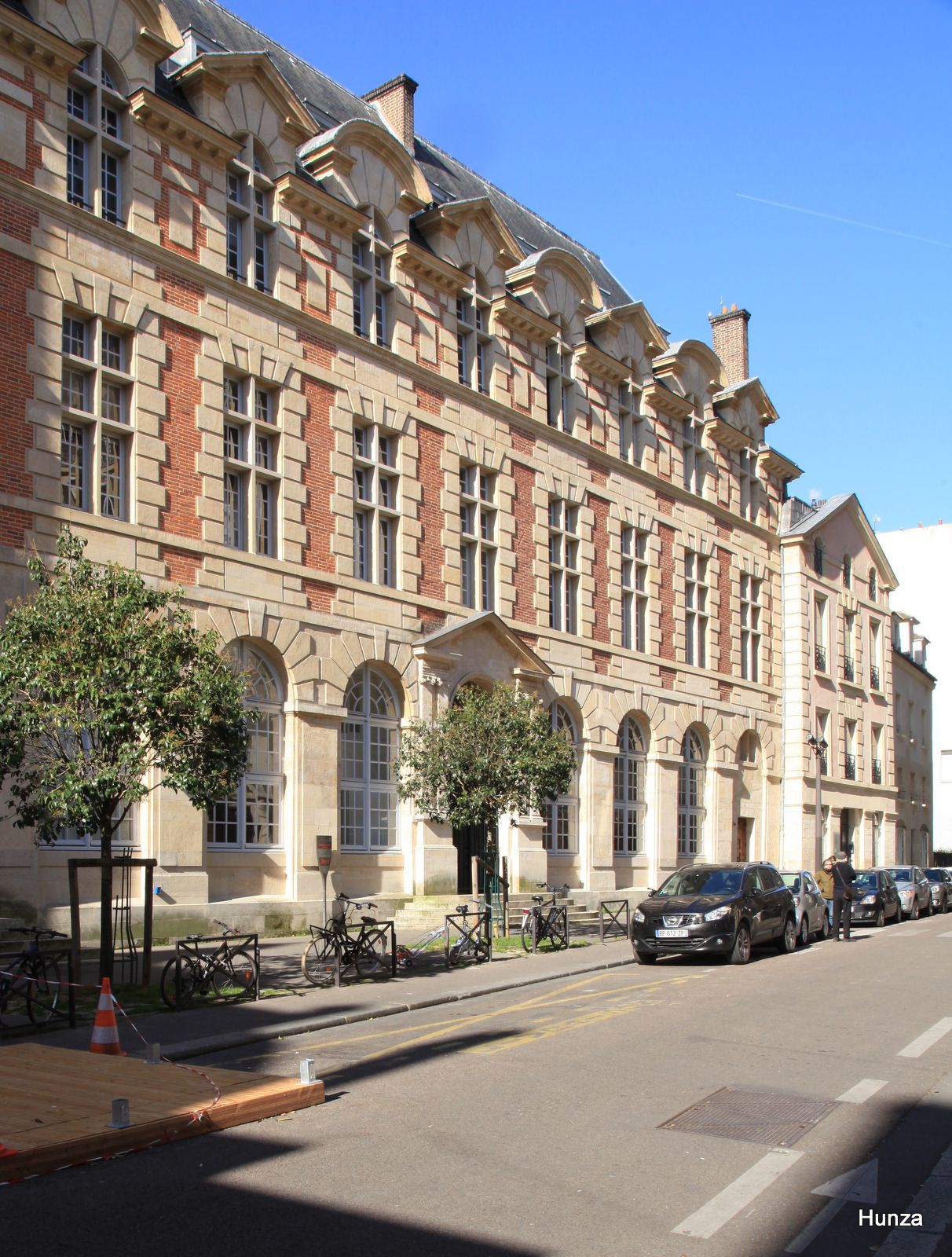 Paris, palais abbatial de l'abbaye de Saint-Germain des Prés