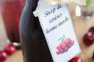 Sirop de Cerises Home Made