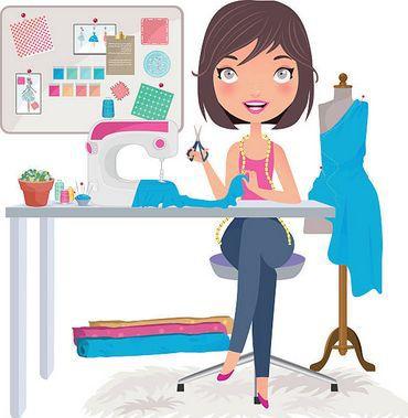 Cours de couture à l'atelier