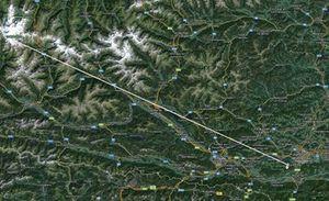 """Leyline: Die sogenannte """"Klosterlinie"""" vom Großglockner über den Ossiacher See und den Millstätter See zum Wörthersee (Maria Wörth)"""