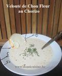 Velouté de Chou Fleur au Chorizo ...