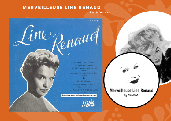 33 TOURS: 1950 Pathé - 33 AT 1010 - Line Renaud