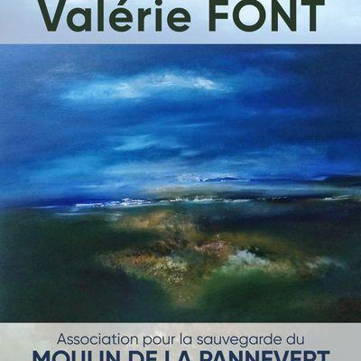 Peinture Valerie FONT ce samedi 23 et dimanche 24 octobre