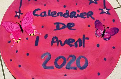 Mon calendrier Avent thème Pink