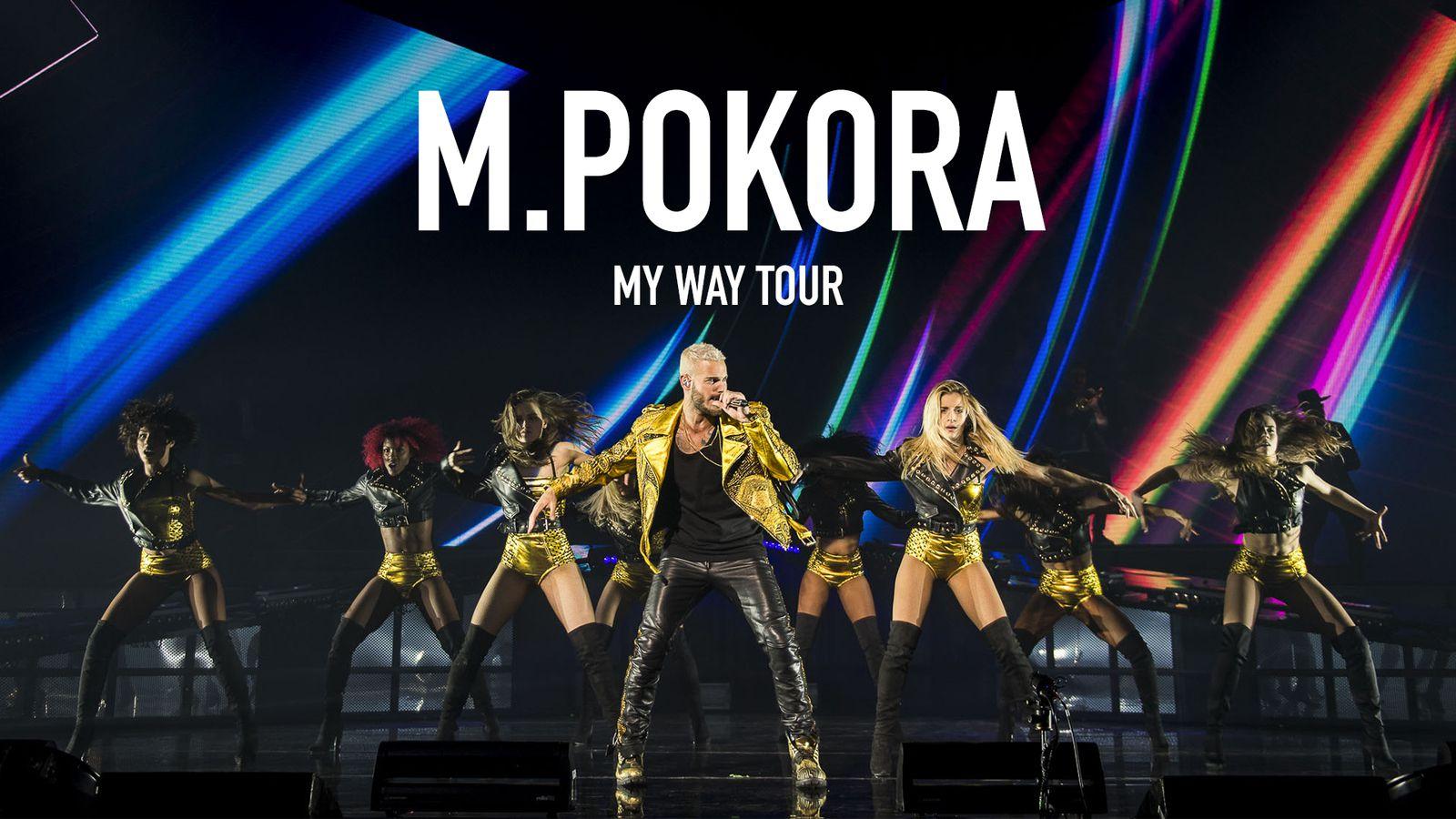 """Le concert """"My Way Tour"""" de M Pokora diffusé ce soir sur W9"""