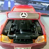 MERCEDES 500 SL COUPE MAJORETTE 1/24 - car-collector.net