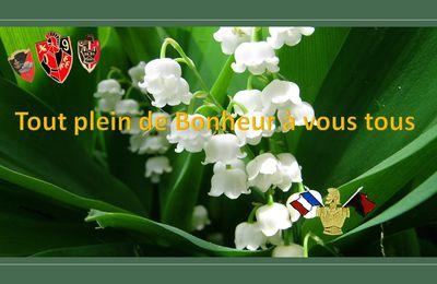 Heureux 1er MAI, du bonheur pour tous