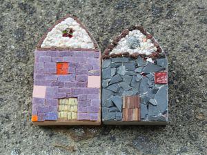 mosaique L'auberge  des Milans : Puech Verny  Auvergne vallée d'Aurillac sur Charlotteblablablog