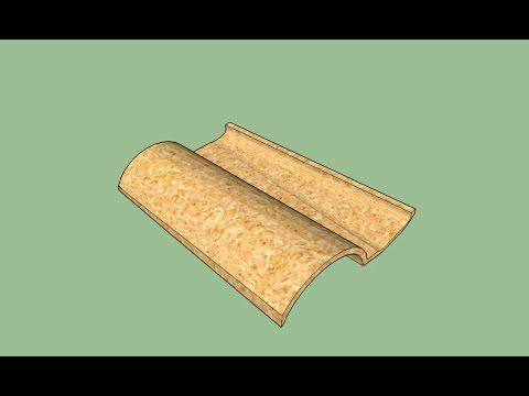 Modèle Sketchup:  Tuile Plein Sud