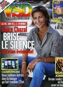 Brèves télé et potins people, samedi 27 mai 2006.