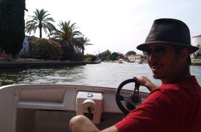 Vacances en Espagne (6) : en barque sur les canaux