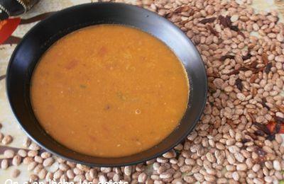 La soupe Caliente pour Amoureusement soupe #5