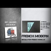 French Modern (decals for french vehicles)