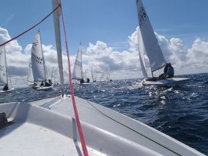 Championnat du Monde de Flying Fifteen au Crozon