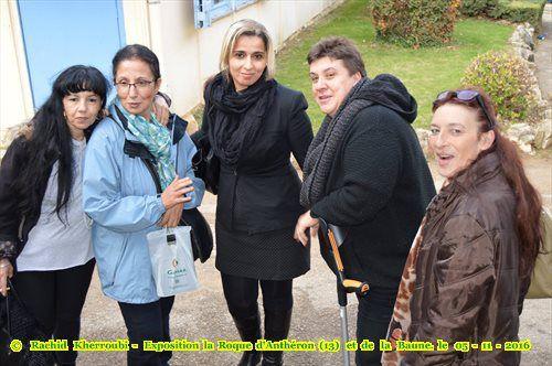 EXPOSITION À LA ROQUE-D'ANTHÉRON (13) PARCOURS DE HARKIS ET DE LEURS FAMILLES À LA BAUME, ET À LA GALERIE MUSÉE
