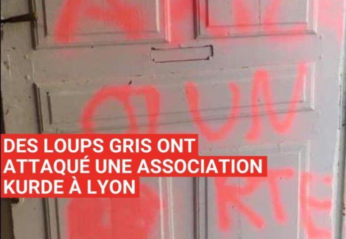 IGNOBLE AGRESSION CONTRE LA COMMUNAUTE KURDE DE LYON