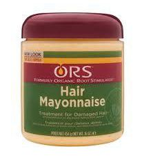 Masque SOS conditionneur Blue Green Algaé     VS     ORS Hair Mayonnaise