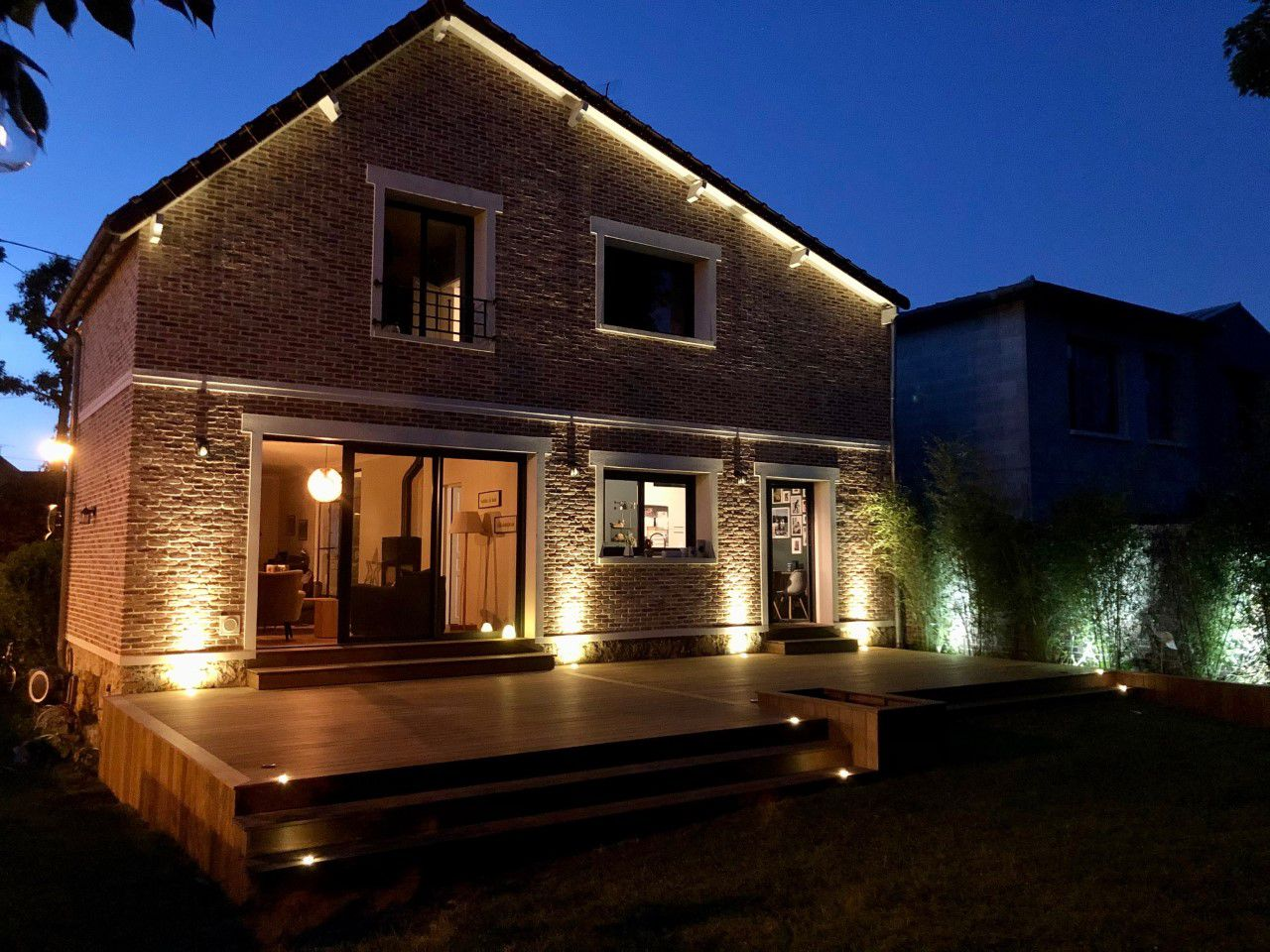 Terrasse Bois Le Chesnay-Rocquencourt 78