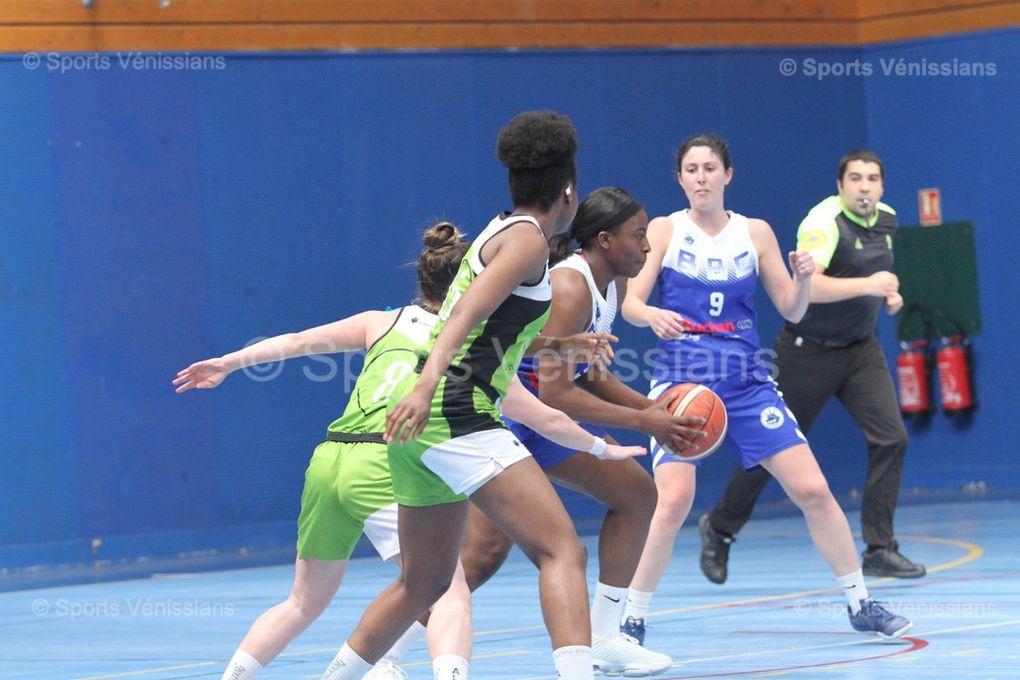 Les basketteuses féminines de l'ALVP finissent cette saison sur une très belle prestation
