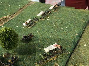 Meredith envoie deux régiments supporter Cutler