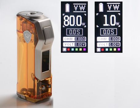 Test - Box - Jellybox Mini 80W de chez Rincoe