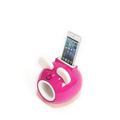 Une souris en céramique pour amplifier le son de votre iPhone
