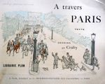 Paris dessiné par Crafty en 1894