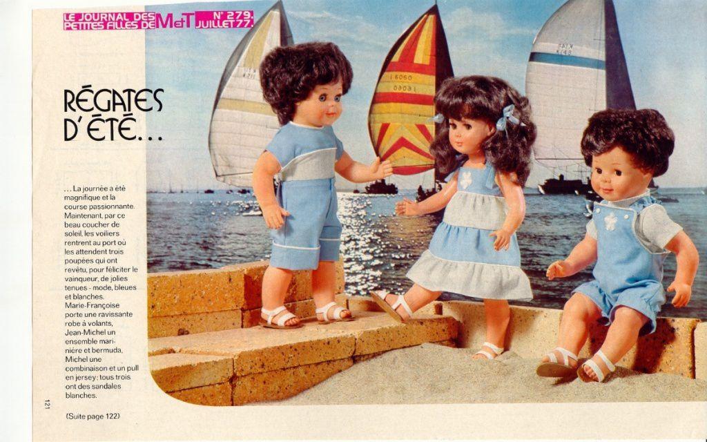 Modes & Travaux • Juillet 1977
