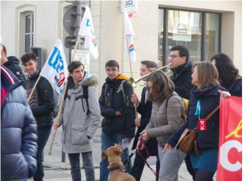 6 février: à Avignon la mobilisation ne faiblit pas!