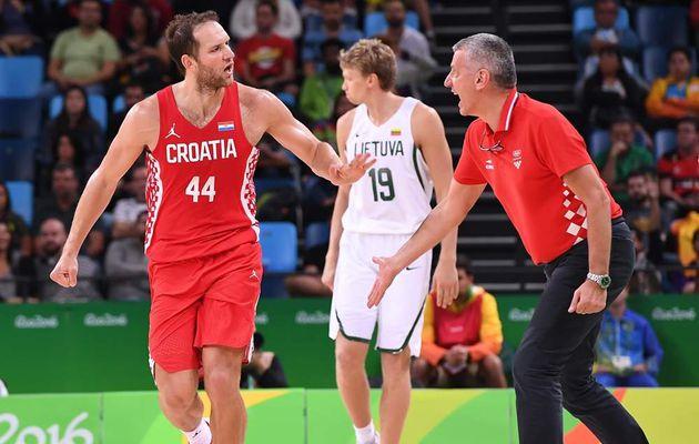 JO : La Croatie fait craquer la Lituanie et rejoint les Serbes en quart de finale