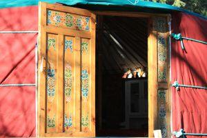 Visite de la Yourte Chamanïa