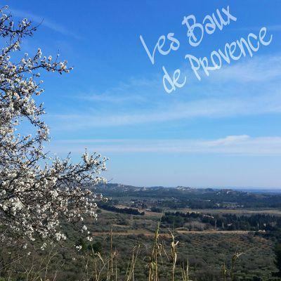Entre parenthèses: les baux de Provence, Vallon de Valrugues et maison d'Ennea