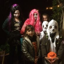 SAINT JULIEN DU VERDON    HALLOWEEN