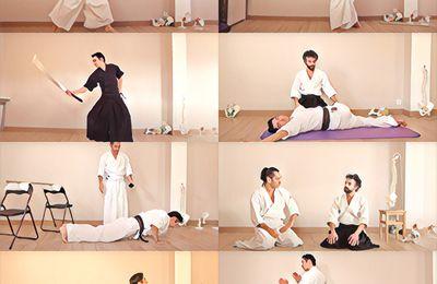 Vidéos bonus pour entraînement personnel : kenjutsu, atémi, santé et conditionnement physique