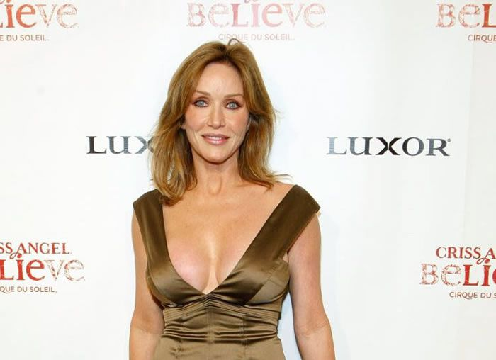 Tanya Roberts en 2008. Photo Ethan Miller/GETTY IMAGES NORTH AMERICA/Getty Images/AFP