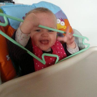 Camille, 7 mois (pour encore quelques jours)