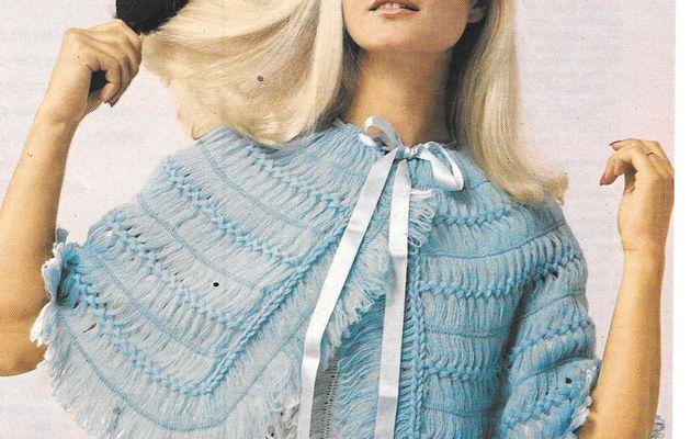 Leçon de tricot à la fourche : une liseuse