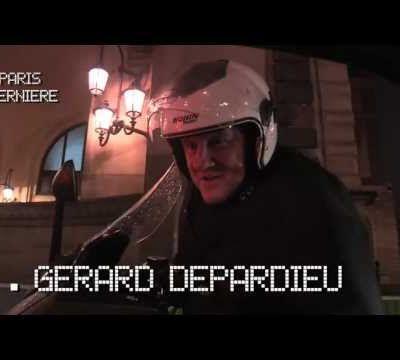 Gérard Depardieu accoste une actrice porno en scooter