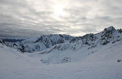 Ski d'automne au Pène Nègre