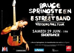 Bruce Springsteen & The E Street Band live au Stade de France - 29/06/2013