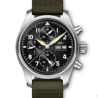 IWC Pilot's Watch Chronograph Spitfire Steel 41mm IW387901
