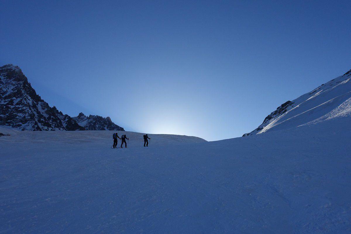 De Lognan au glacier d'Argentière
