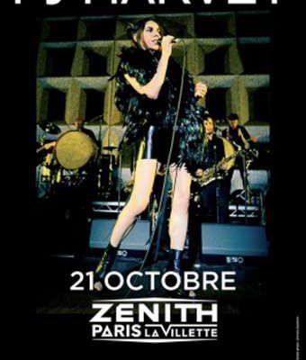 Agenda : PJ Harvey au Zénith, le 21 octobre 2016