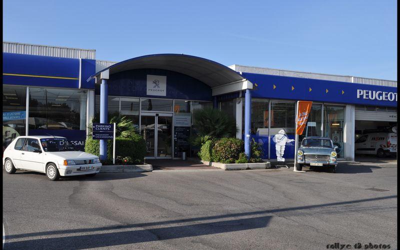 Portes ouvertes Peugeot Aubagne 15 octobre 2011