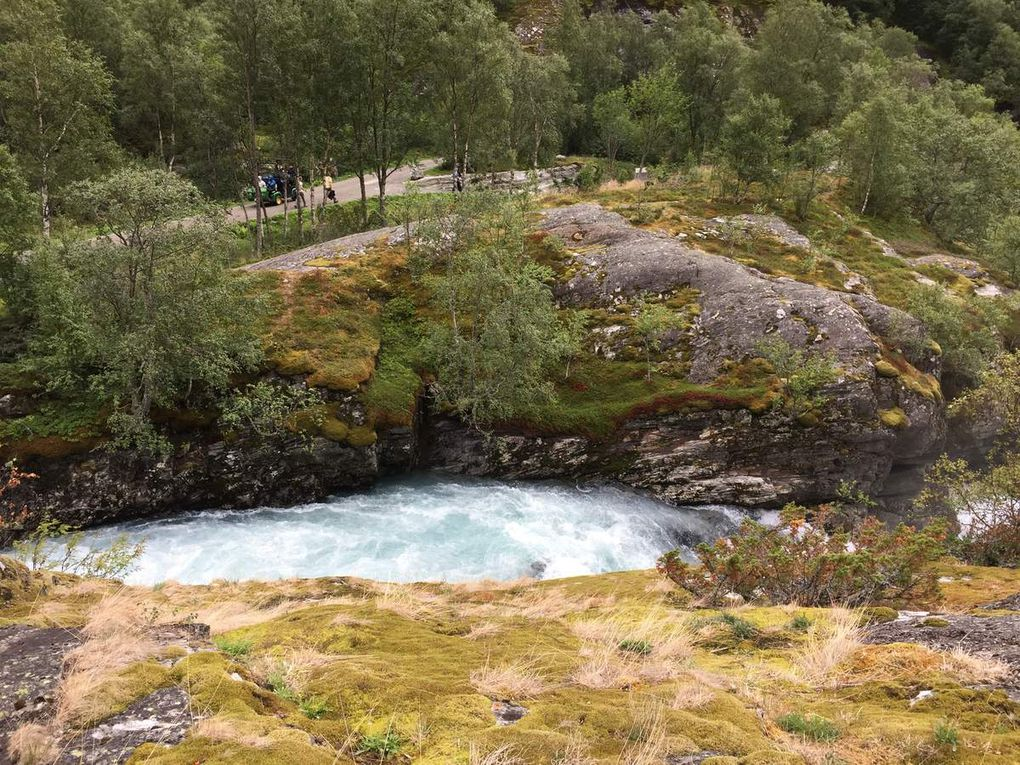 On my way to Norway - Autour du glacier de Jostedal