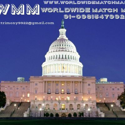 MOST SUCCESSFUL (USA) AMERICA MATRIMONY 91-09815479922 WWMM
