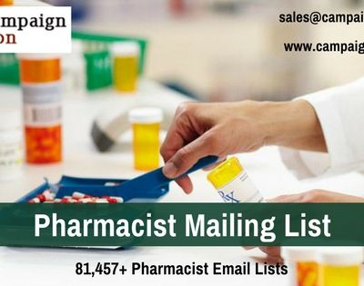 Communicate with your Target Customers by purchasing Pharmacist Mailing Address