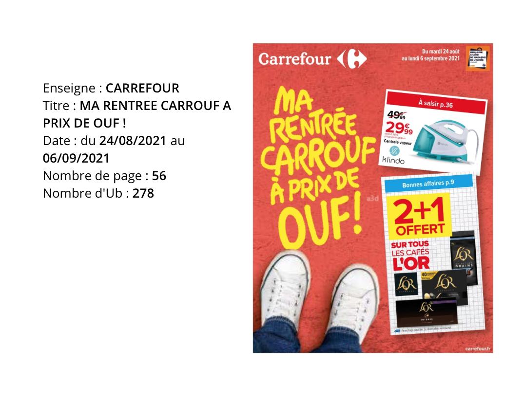 L'Hebdo, semaine du 25 au 31 Août 2021