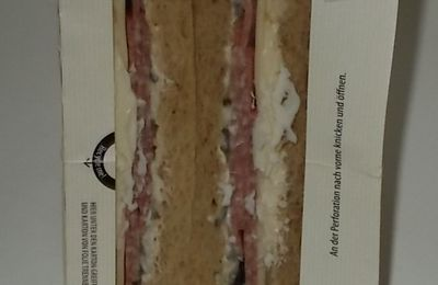 Aldi Snack Time Sandwich Salami-Edamer