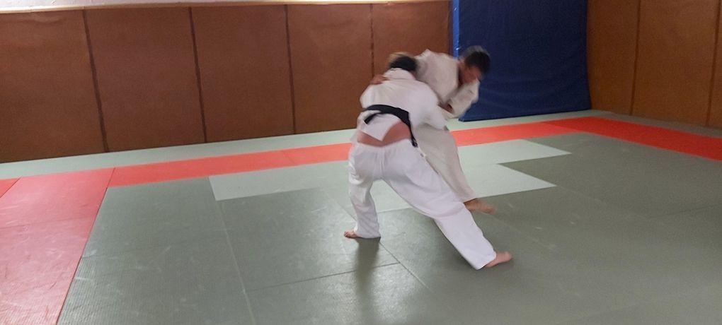 Banzaiiii.... retour du judo sur notre tatami !
